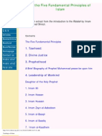 5 Fundamental Principles of Islam