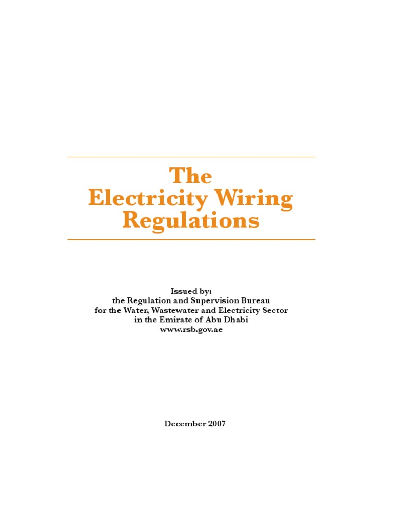 Wiring Regulations I Electrical Electric Power Distribution Cooker Switch