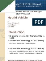 Hybrid Vehicle toyota