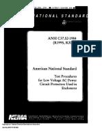 ANSI-C37.52-1984