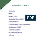 SED TV