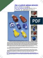 IEC 60309 Pin and Sleeve Brochure