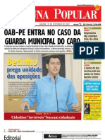 Edicao 42 do jornal TRIBUNA POPULAR