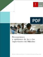 MINEDUC 2006 - Percepciones y Opiniones de Las y Los Supervisores Del Mineduc