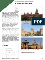Indo-Saracenic Revival Architecture