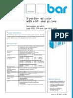 3-Pos-actuator