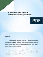 Conservare - Câmpul electric pulsatoriu