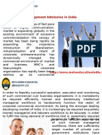 Management Admission in India