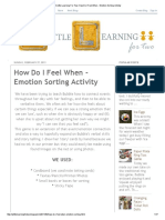 A Little Learning for Two_ How Do I Feel When - Emotion Sorting Activity