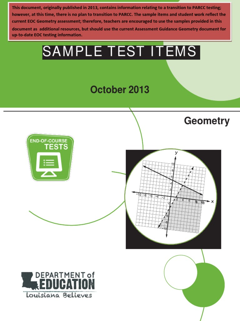 Geometry sample test itemspdf triangle circle biocorpaavc Gallery