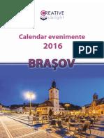 Calendar Evenimente 2016 Brasov