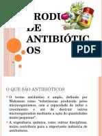 Produção de Antibióticos