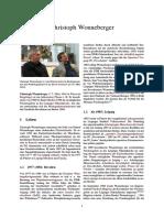 Christoph Wonneberger - Arbeitsgruppe Menschenrechte