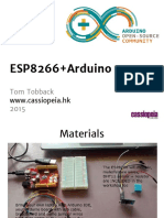 Esp and Arduino Programming