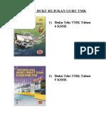Senarai Buku Rujukan Guru Tmk