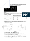 AUTO CAD exercise on Coordinate system
