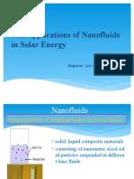 纳米流体在太阳能集热中的应用.pptx