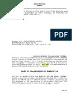AÇÃO DE EXONERAÇÃO DE ALIMENTOS - HEITOR