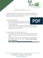 Manual Configuración TP-Link WiFiColombia