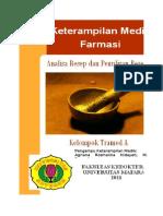 Analisa Resep & Peresepan Klp.A