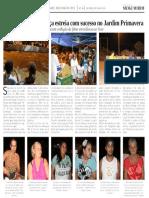 Diário Oficial – Saúde e lazer na praça - maio/2015
