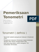 Pemeriksaan Tonometri