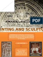 romanesque painting and sculpture weebly