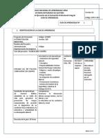SISTEMA INTEGRADO DE GESTIÓN Proceso Gestión de la Formación Profesional Integral Procedimiento Ejecución de la Formación Profesional Integral