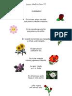 Alba Ríos Cueto. Poesías.(3º C)