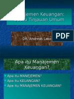 Manajemen Keuangan-pengantar