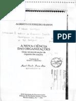 A Nova Ciência Das Organizações