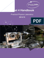 Physics Laboratory Handbook