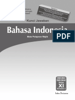Kunci Jawaban PR Indonesia XI Sem 2 K13