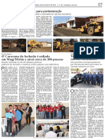 Diário Oficial – Obras/Segurança/Acessibilidade - agosto/2015