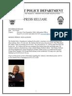 Nino Jackson Press Release