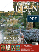 The English Garden - December 2015