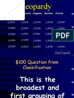 jeopardy classification