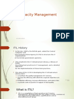 Capacity Management Deck