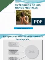 Teorias de Los Trastornos Mentales
