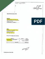 Invoice Between UTMB Galveston and Planned Parenthood Gulf Coast