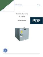 GE Water Cooling Pump WL5000SE_ea