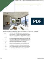¿Qué Orientación ¿qué orientación tiene que tener tu casa para ahorrar en energíaTiene Que Tener Tu Casa Para Ahorrar en Energía_ — Idealista_news