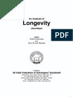 An Analysis of Longevity (2)