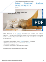 Descargar Robot Structural Analysis Professional 2016 _ 2015 _ 2014