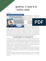 Historograma - Como Entender