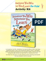 Sometimes You Win—Sometimes You Learn for Kids - Activity Kit