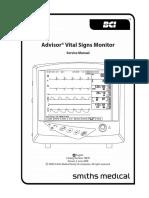 Monitor BCI Advisor - Service Manual
