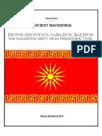Dionis Dionysus Sabazius Bachus the Mace
