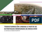 Transformación Urbana a partir de estrategias renovadas de movilidad - El caso de la ciudad de Santa Fe