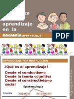 Instrucción y Aprendizaje
